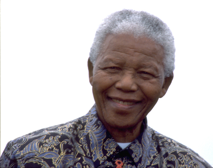 Nelson Mandela (foto di Elisabetta Antognoni)