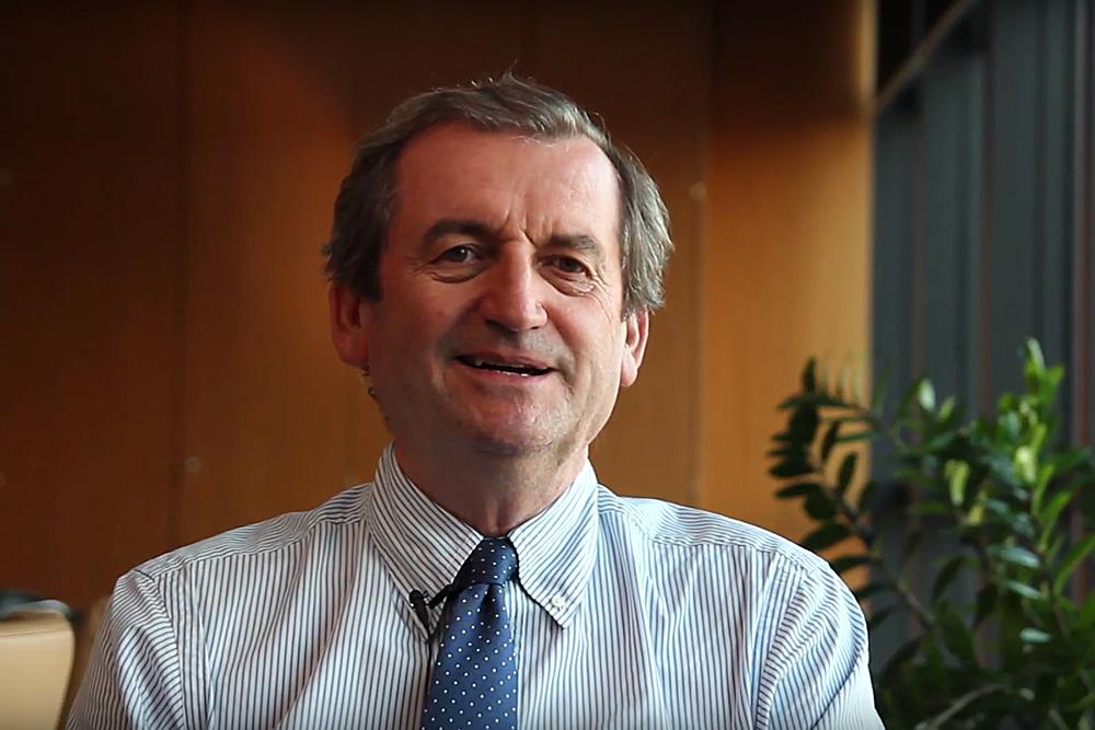 <strong>Pierluigi Stefanini</strong><br />Presidente Gruppo Unipol<br />e Fondazione Unipolis