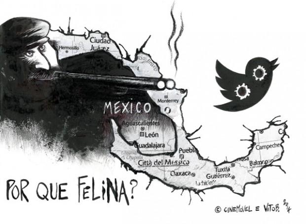 Un tweet per Felina