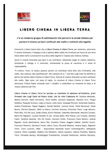 Manifesto Libero Testimoni